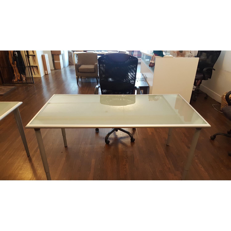 Ikea Glass Top Desk & Chair