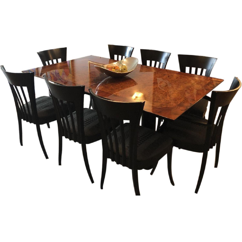 Miniforms Italian Dining Table w/ 8 Chairs - AptDeco