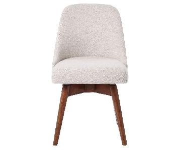 West Elm Mid Century Office Chair in Stone