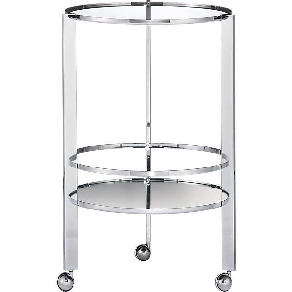 CB2 Bar cart