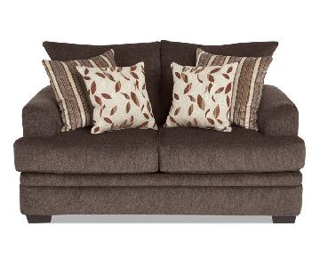 Bob's Brown Loveseat