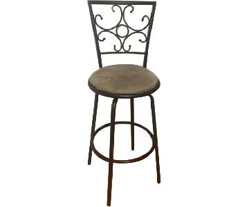 Metal Swivel Barstools