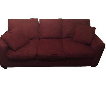 Macy's Bauhaus Cinnamon Sofa