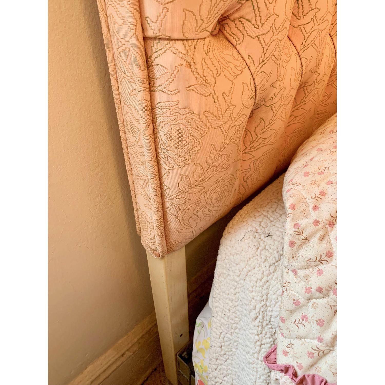 Vintage Twin Pink Tufted Headboard - image-3