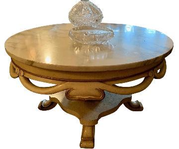 Vintage Marble Coffee Table
