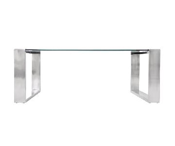 Modani Caterina Glass Coffee Table