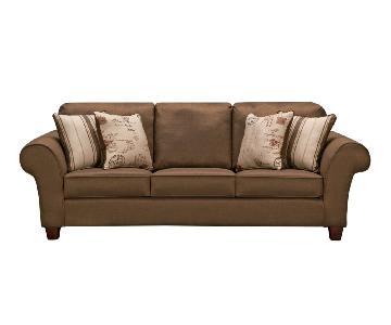 Value City Furniture Palmer Bark Sofa