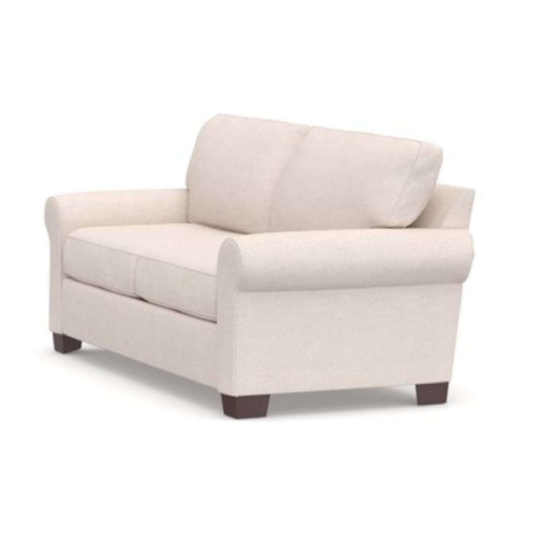 Pottery Barn 3 Seater Sofa in Cream