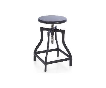Crate & Barrel Turner Adjustable Stools