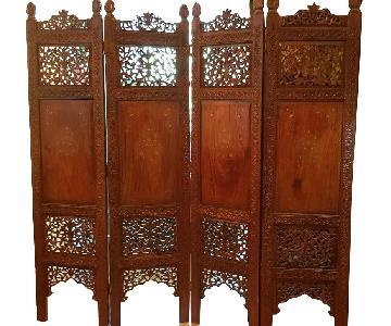 Antique Pakistani Room Divider