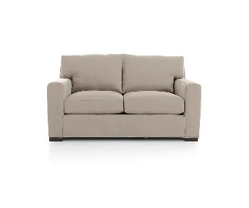 Crate & Barrel Axis II Loveseat