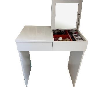 Ikea Malm Dressing Table/Makeup Vanity