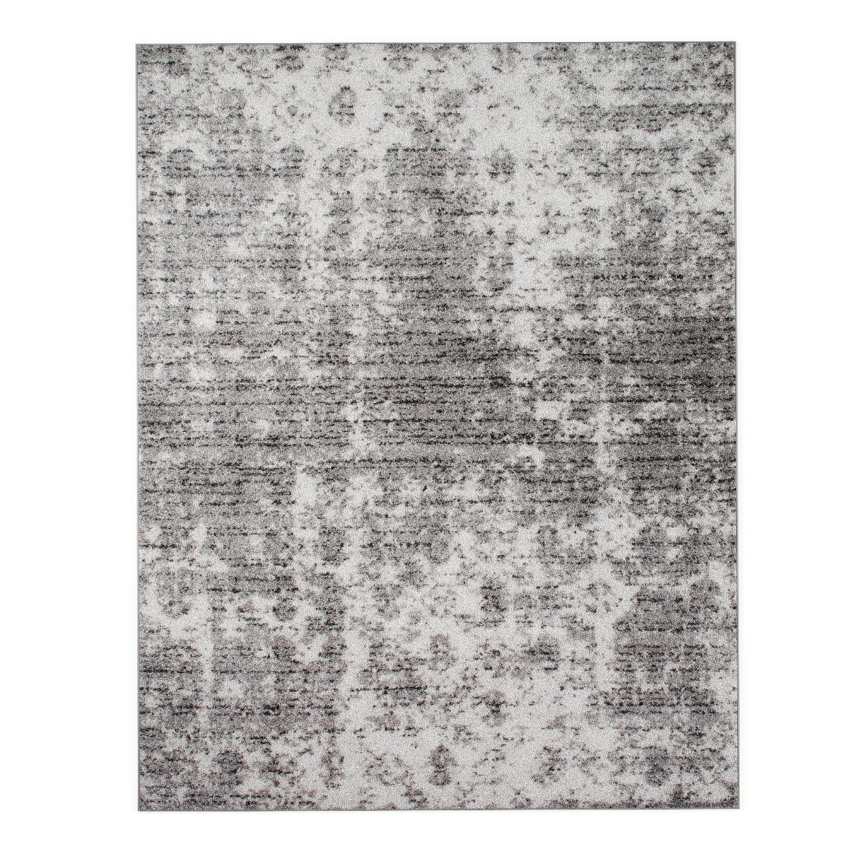 Porch & Den Seigel Granite & Mist Grey Area Rug
