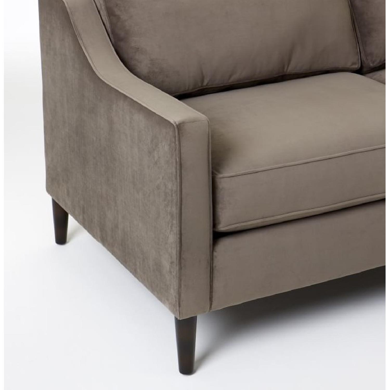 Terrific West Elm Paidge Sofa Aptdeco Pabps2019 Chair Design Images Pabps2019Com
