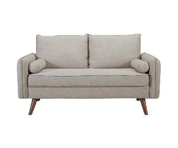 Modway Revive Upholstered Fabric Loveseat