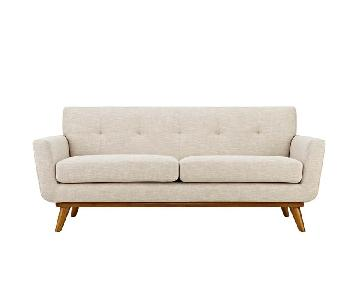 Modway Engage Upholstered Fabric Loveseat