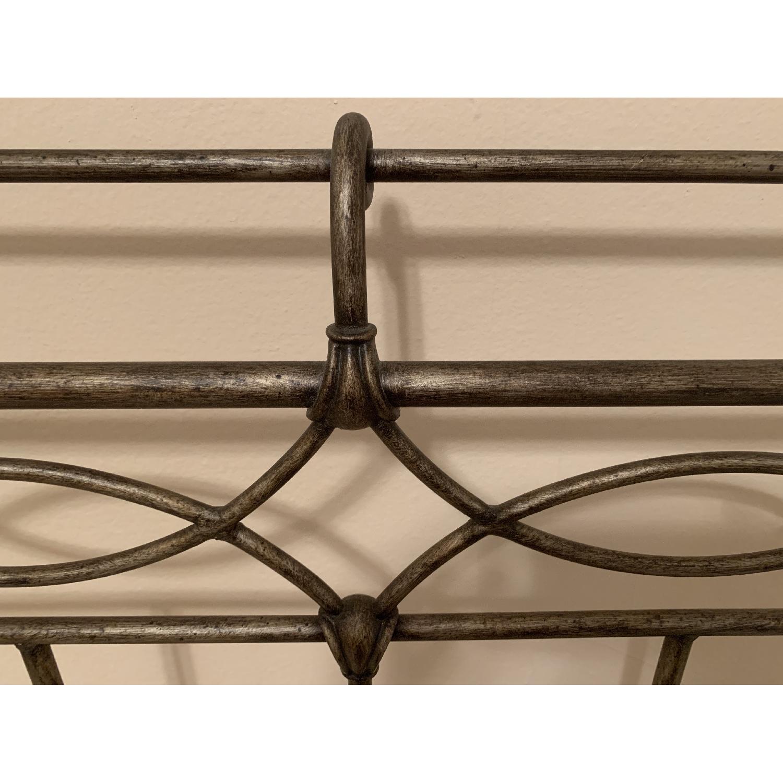 Bronze Full-Size Bed Frame w/ Headboard