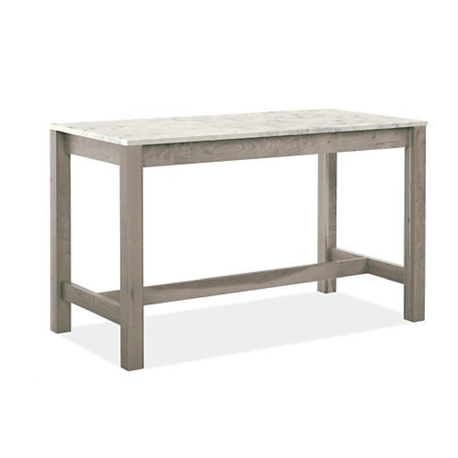 Room & Board Marbled Quartz Linden Counter Table