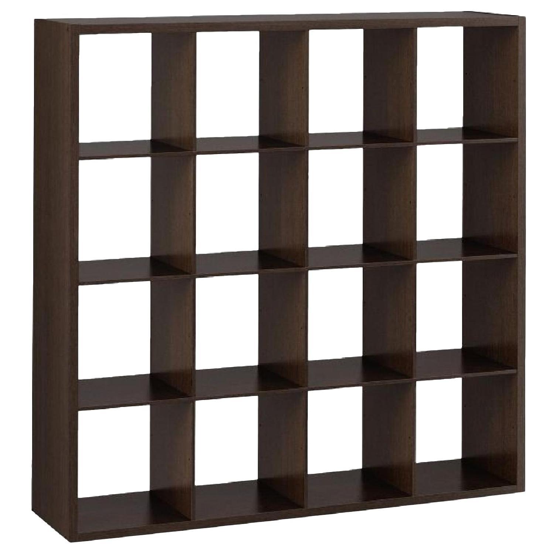 Target 16 Cube Organizer/Bookcase w/ Storage Boxes