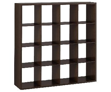 Target 16 Cube Organizer/Bookcase w/ Storage Boxes