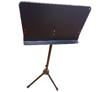 Musician's Gear Music Stand in Black