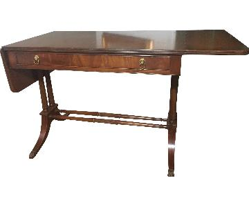 Imperial Grand Rapids Mahogany Drop Leaf Table w/ Drawer
