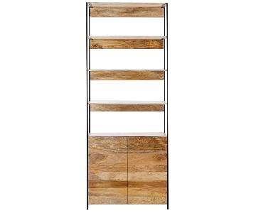 West Elm Rustic Bookshelf