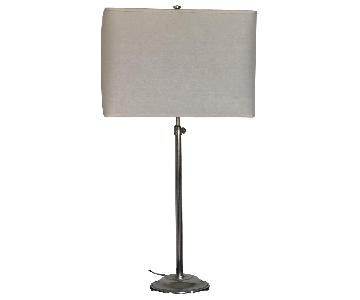 Restoration Hardware Table Lamp w/ Shade