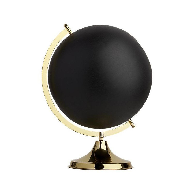 CB2 Black & Brass Orb
