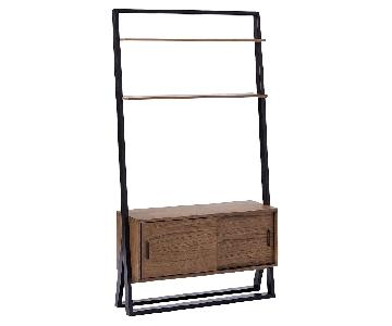 West Elm Ladder Shelf Media Console