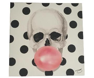 Polka Dot Skull Picture