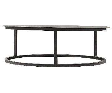 Restoration Hardware Mercer Round Coffee Table
