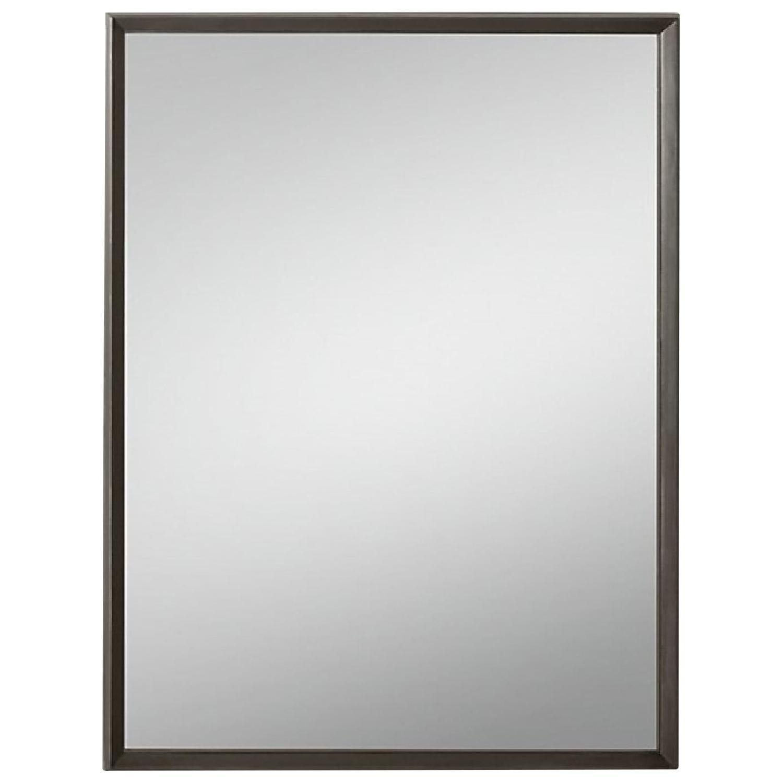 Restoration Hardware Beveled Mirror