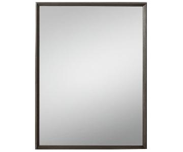 Restoration Hardware Beveled Mirror