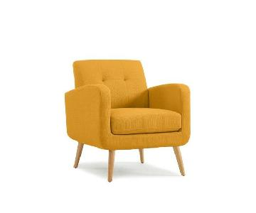 Langley Street Mustard Yellow Armchairs