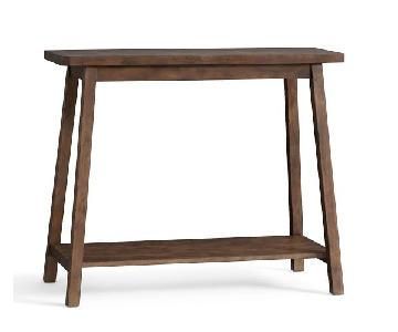 Pottery Barn Modern Mission Side Table