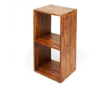 ABC Carpet and Home Teak Collection Shelving Units