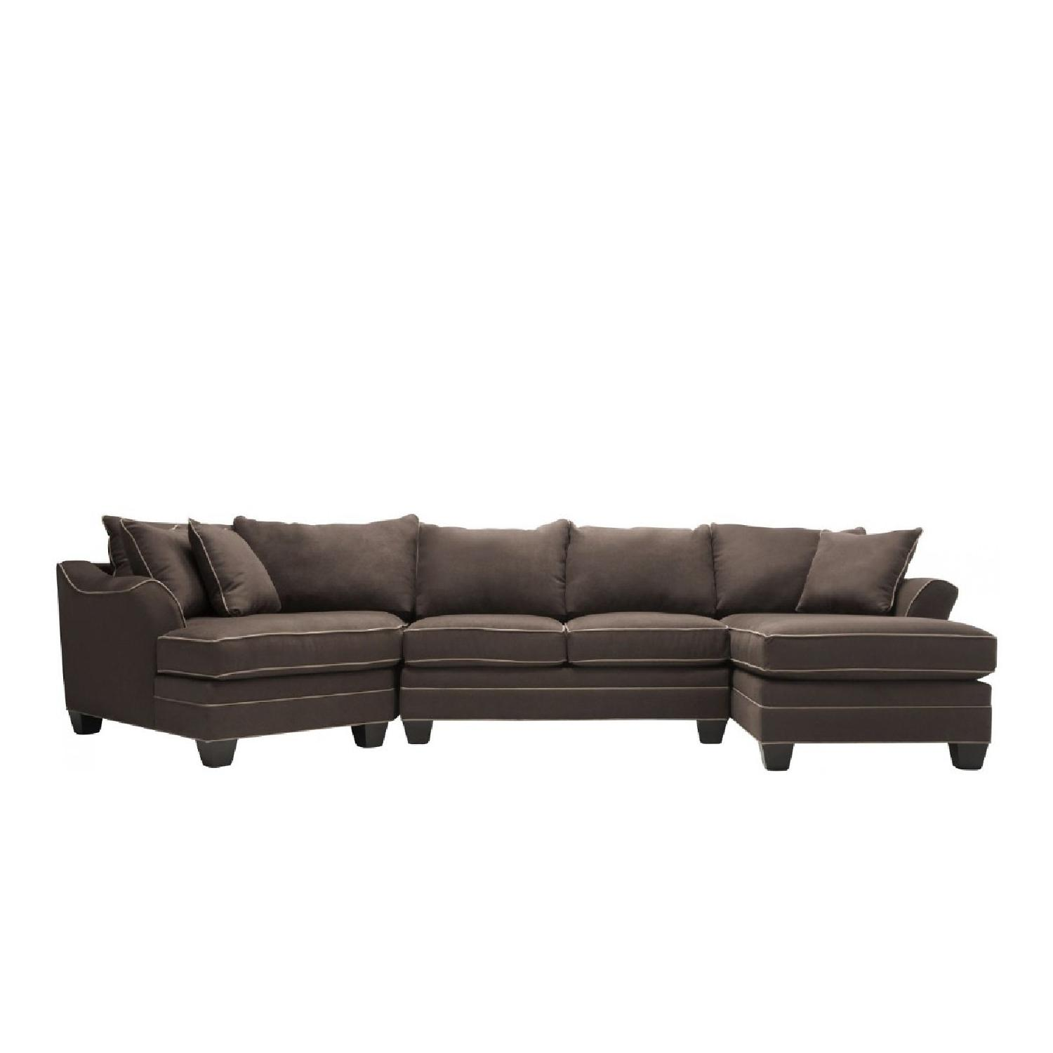 Raymour & Flanigan 3 Piece Sectional Sofa