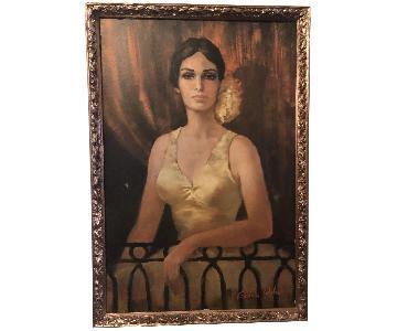 Vintage Mid Century Barbara Weber Carmen of the Opera Print