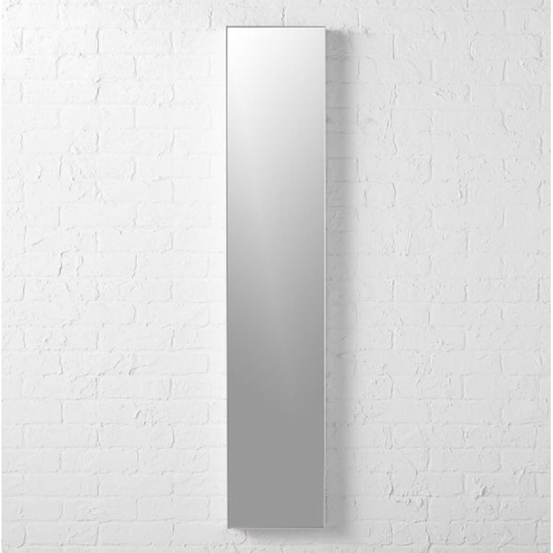 CB2 Infinity Narrow Silver Mirror-0