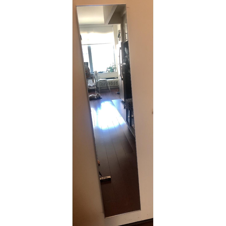 CB2 Infinity Narrow Silver Mirror-1