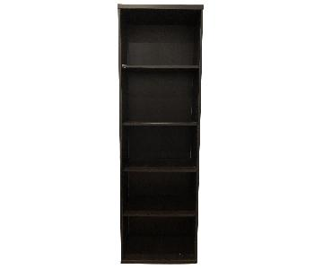 Ikea Black-Brown Bookcase