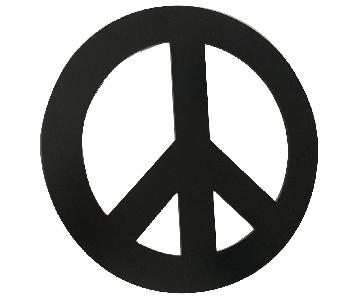 Pottery Barn PB Teen Peace Sign LED Light