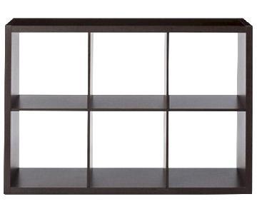 Target Espresso 6 Cube Bookcase