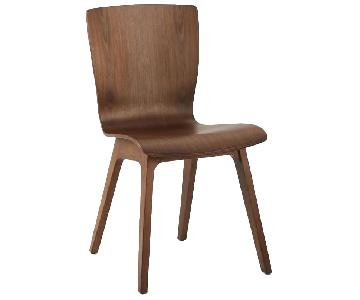 West Elm Crest Bentwood Dining Chairs