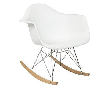 Eames-Style Rocking Chair