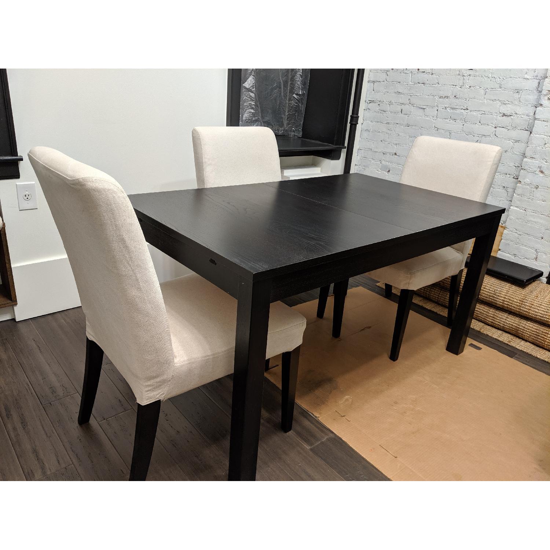 Ikea Bjursta Extendable Dining Table Aptdeco