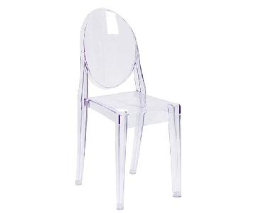 Flash Furniture Ghost Transparent Dining Chairs