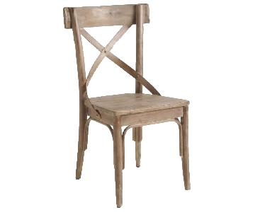 World Market Wood Bistro Dining Chairs