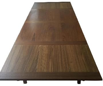 Ansager Mobler Extendable Teak Dining Table